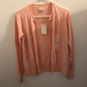 Sweaters - Baby Pink Cover Up!